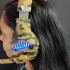 Green Camo Blue led lights Gaming headset